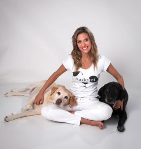 Luisa Mell luta pelos direitos dos animais